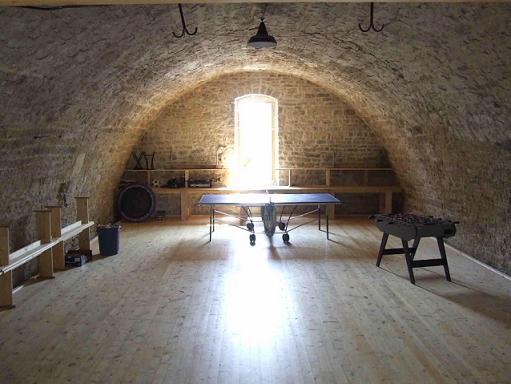Cave salle de jeux