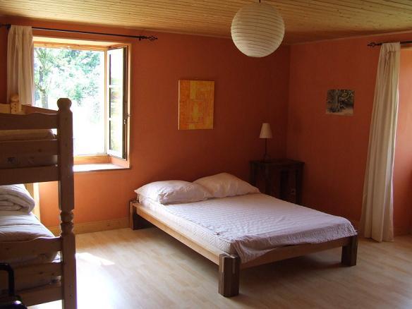Das rote Schlafzimmer
