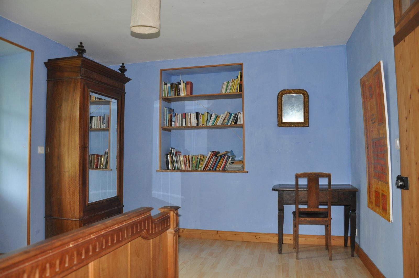Das blaue Schlafzimmer