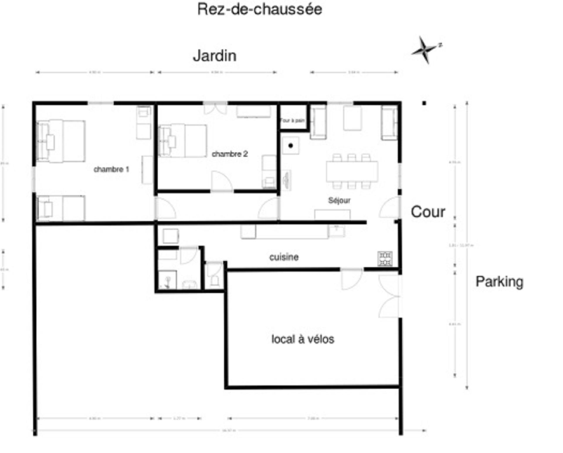 "Plan ""Chez Léontine"""