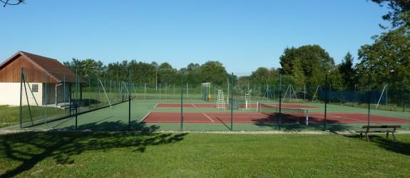 Terrains tennis Arc-et-Senans