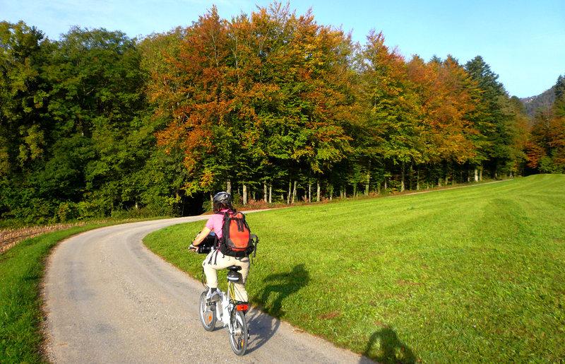 A vélo dans le Jura par Bertrand Semelet